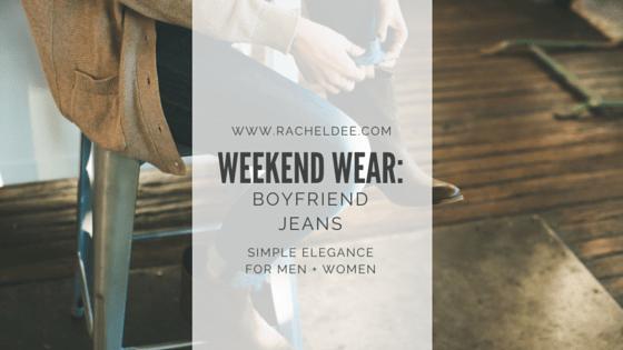 Casual Chic: Boyfriend Jeans